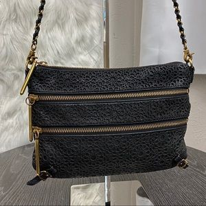 Elliott Luccca Black Crossbody Bag